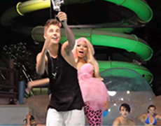 Justin Bieber-Nicki Minaj-Behind the Scenes-Beauty and a Beat
